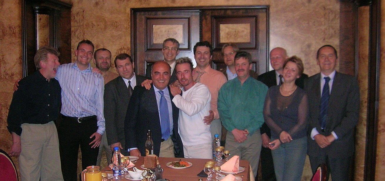 EVHA meeting back in 2005, Moscow